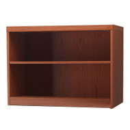 * MONTHLY SPECIAL! Mayline Aberdeen Bookcase 2-Shelf Cherry Finish - AB2S36-LCR