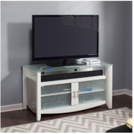 Bush My Space Aero TV Stand White - MY16148-03