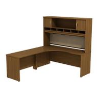 BBF Bush Series C Package Executive L-Shaped Desk Left Warm Oak - SRC002WOL