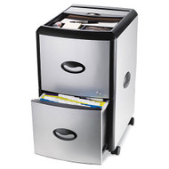 MONTHLY SPECIAL! Storex Mobile Filing Cabinet with Metal Siding - 61352U01C