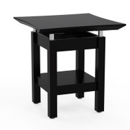 Mayline Sterling Series End Table, Textured Mocha - STET-TDC