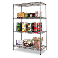 Alera Wire Shelving Starter Kit, 4 Shelves - SW50-4824