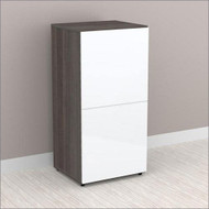 "Nexera Allure Entertainment Collection 36"" Storage Cabinet - 1 Door - 221233"
