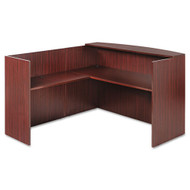 Alera Valencia Series L-Shaped Reception Desk - VAL1