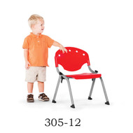 OFM Rico Student Stack Chair without Arms (Pack of 4) - 305-12