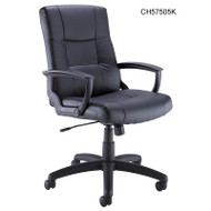 Bush Industries Leather Managers Chair -  CH57505K