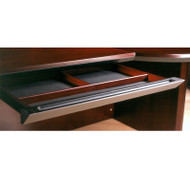 * MONTHLY SPECIAL! Mayline Corsica Veneer Center Drawer ASSEMBLED Sierra Cherry - CCD-CRY