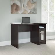 "Bush Cabot Collection Single Pedestal Desk 48""W Espresso Oak - WC31823-03"