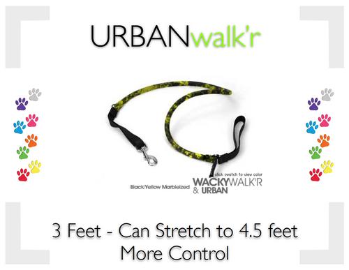 URBANwalk'r Black/Yellow - Small (6-12lbs)