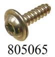 1A26, 506513 TP30 Screw 4.0x13 T20 Drive PF11 Flange Zinc Clear 805065 [1,000PK]
