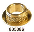 """805086 CLFR ID:9 x OD:12.4 x 5H FOR M5-M8 OR 3/16""""-5/16"""" MATL BRASS [50 PK]"""