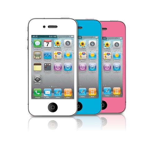 Premium Color Screen Protectors for iPhone 4 / 4s
