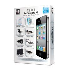 12 in 1 Accessory Kit for iPhone 4 / 4s