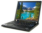 Lenovo ThinkPad T61 Laptop - Core 2 Duo 1.8GHz - 2GB DDR2 - 80GB HDD - DVD+CDRW