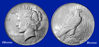 1928 Peace Dollar XF-BU