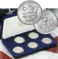 Morgan Silver Dollar Mint Mark Collection/Case