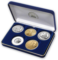 5 piece Million Dollar Tribute Proof Set