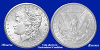 1921-D Morgan Silver Dollar - Collector's Circulated Condition