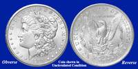 1900-O Morgan Silver Dollar - Collector's Circulated Condition
