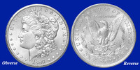 1887-O Morgan Silver Dollar - Brilliant Uncirculated Condition
