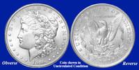 1888-P Morgan Silver Dollar - Collector's Circulated Condition