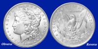 1898-P Morgan Silver Dollar - Brilliant Uncirculated Condition