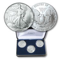 First Three Years of Silver Eagle Dollars