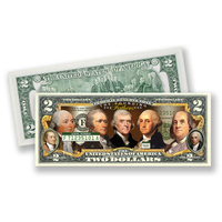 Founding Fathers $2 Bill