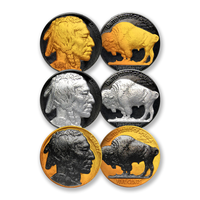 Buffalo Nickel Precious Metals Collection