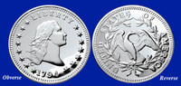1794 Silver Dollar Tribute Proof