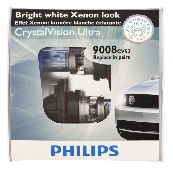 2008-2014 Dodge Challenger Crystal Vision Headlamp Bulbs
