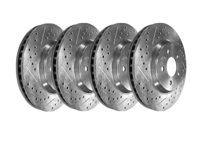 Baer Brake Rotors - Drilled and Slotted (model years vary)