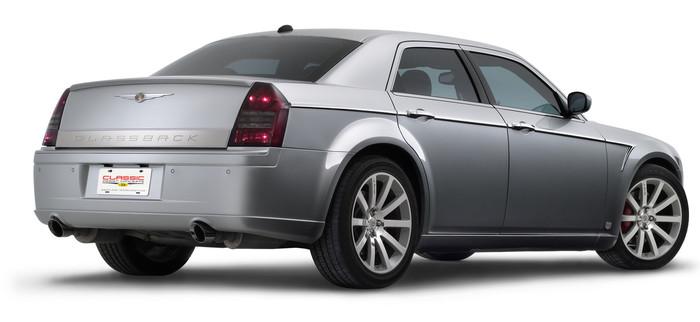 """""""GLASSBACK"""" Chrysler 300 Panel"""