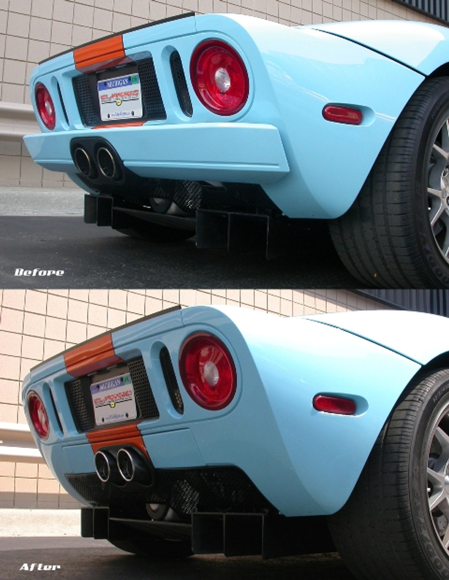 Stock VS Sweet Ass Bumper Delete