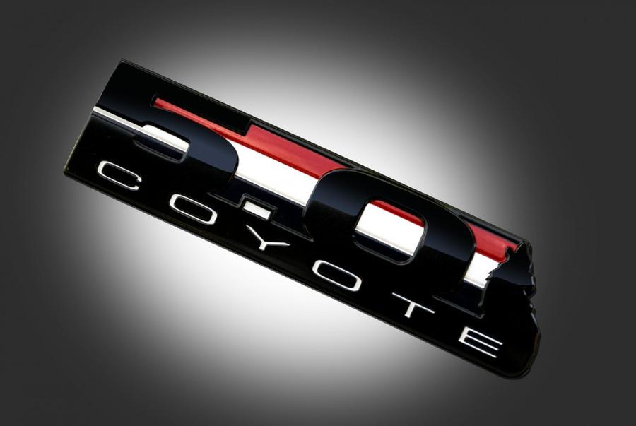 5.0 Coyote Side Emblems