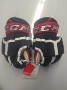 "CCM HG 50PP Pro Stock Custom Hockey Gloves 14"" Portland Pirates NEW THP"