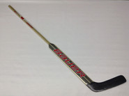 "Bauer Reactor 9000 Custom LH Pro Stock Goalie Stick 26.5"" Miami Ohio #35 Custom NCAA"