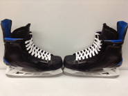 BAUER NEXUS 1N CUSTOM PRO STOCK ICE HOCKEY SKATES 10 3/8 C NEW YORK RANGERS STAAL NHL USED