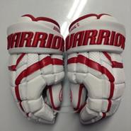 "Warrior Covert DT1 Pro Stock Custom Hockey Gloves 15"" Boston University Terriers NCAA"