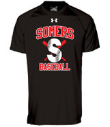 Somers LL Under Armour Locker Tee Adult Black