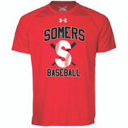 Somers LL Under Armour Locker Tee Youth Red