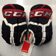 "CCM HG 50PP Pro Stock Custom Hockey Gloves 14"" Portland Pirates NEW"