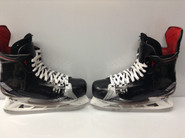 BAUER VAPOR 1X CUSTOM PRO STOCK ICE HOCKEY SKATES 8 EE USED NY RANGERS GLASS NHL