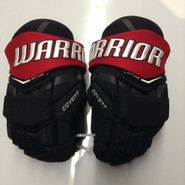 "Warrior Covert Pro QRL Pro Stock Custom Hockey Gloves 13"" Northeastern New"