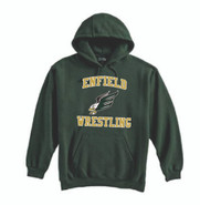 Enfield Wrestling Pennant Super 10 Cotton Hoodie