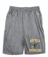 Enfield Wrestling Badger Pro Heather Short Adult 4319
