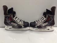 BAUER VAPOR APX2 CUSTOM PRO STOCK ICE HOCKEY SKATES 10.5 E USED NHL