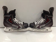 BAUER VAPOR X90 CUSTOM PRO STOCK ICE HOCKEY SKATES 9.5 E USED NHL (2)