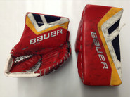 BAUER Totalone Nxg Goalie Catcher and Blocker McKENNA Pro Stock Springfield Thunderbirds AHL Full Right