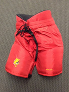 Bauer Custom Pro Hockey Pants Ferris State Bulldogs Large Pro Stock NCAA #8